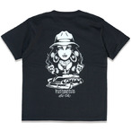 """KUSTOMSTYLE """"TWO FACE"""" BLACK Tシャツ"""